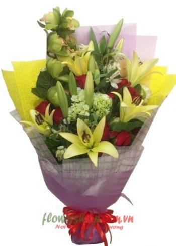 hoa đẹp ngày 20-10