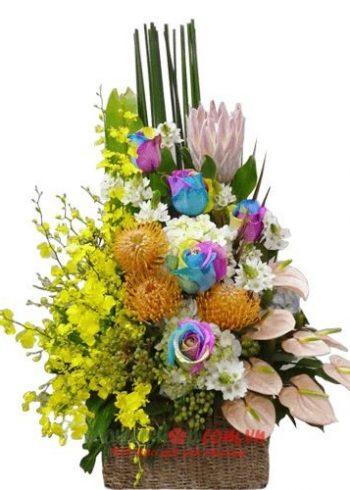 tặng hoa 8-3