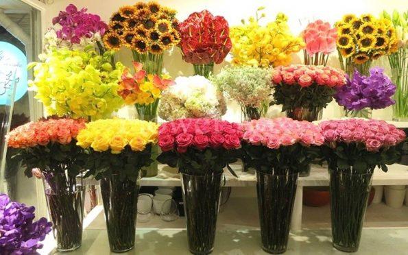 hoa tươi tại shop hoa hà nội