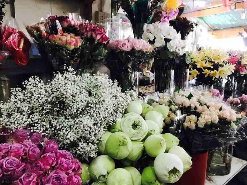 Vô vàn loài hoa tươi, đẹp tại Flower Shop