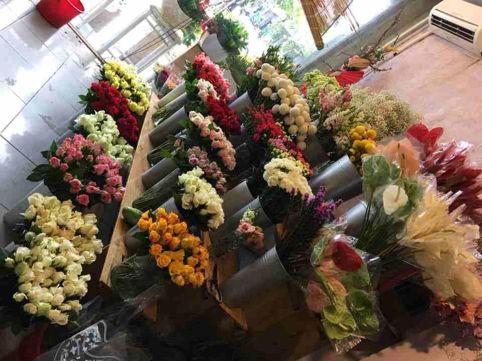 Đa dạng các mẫu hoa
