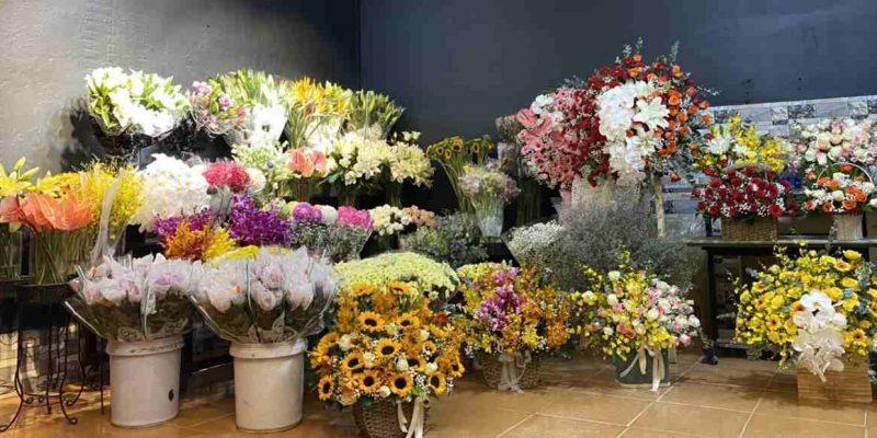 Hoa Trưng bày shop hoa tươi quận 10