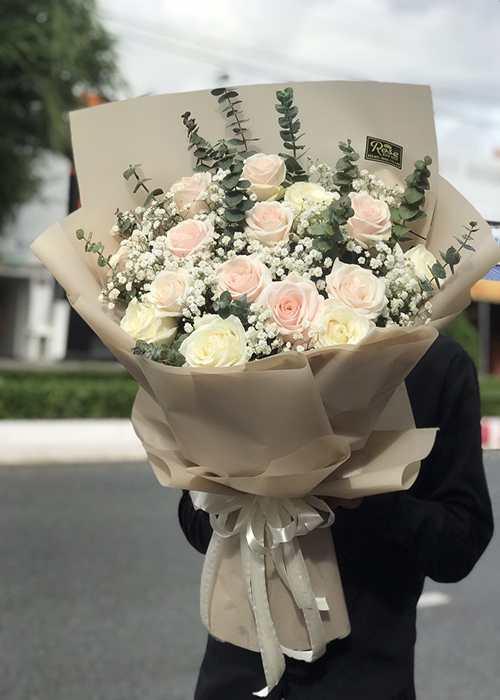 bó hoa dịp 20-10