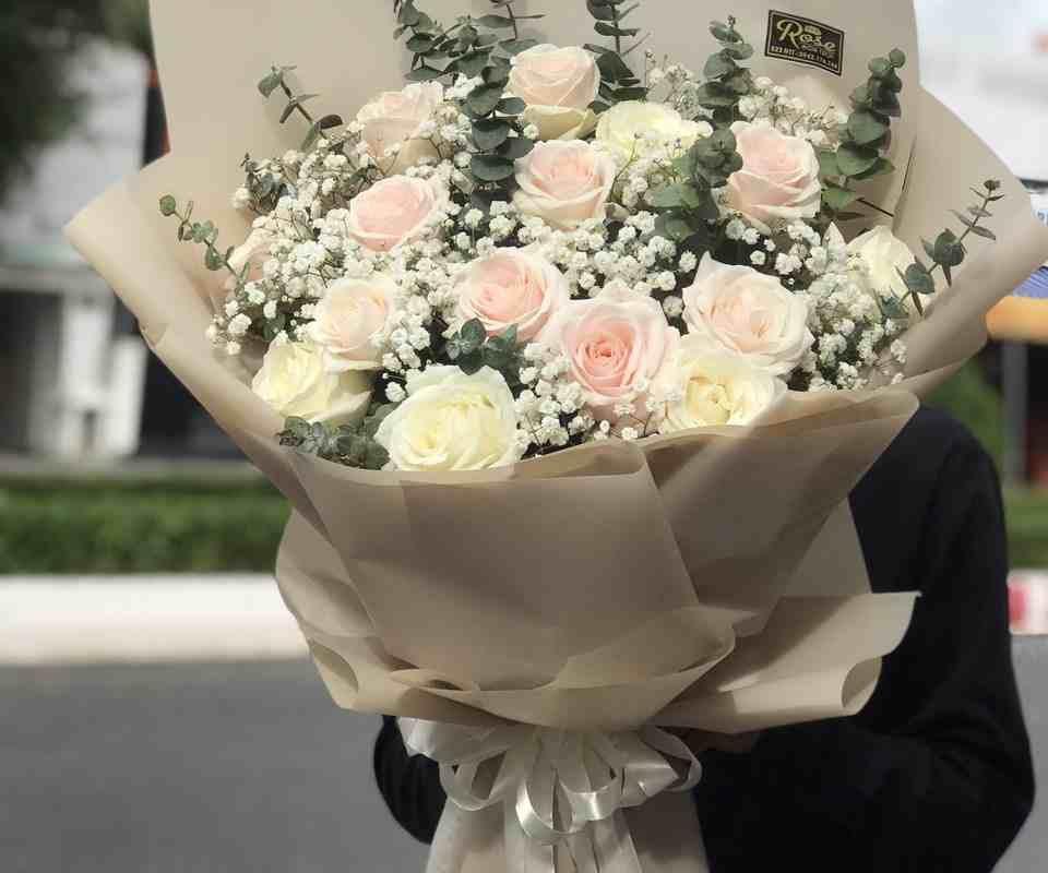 Bó hoa siêu lộng lẫy