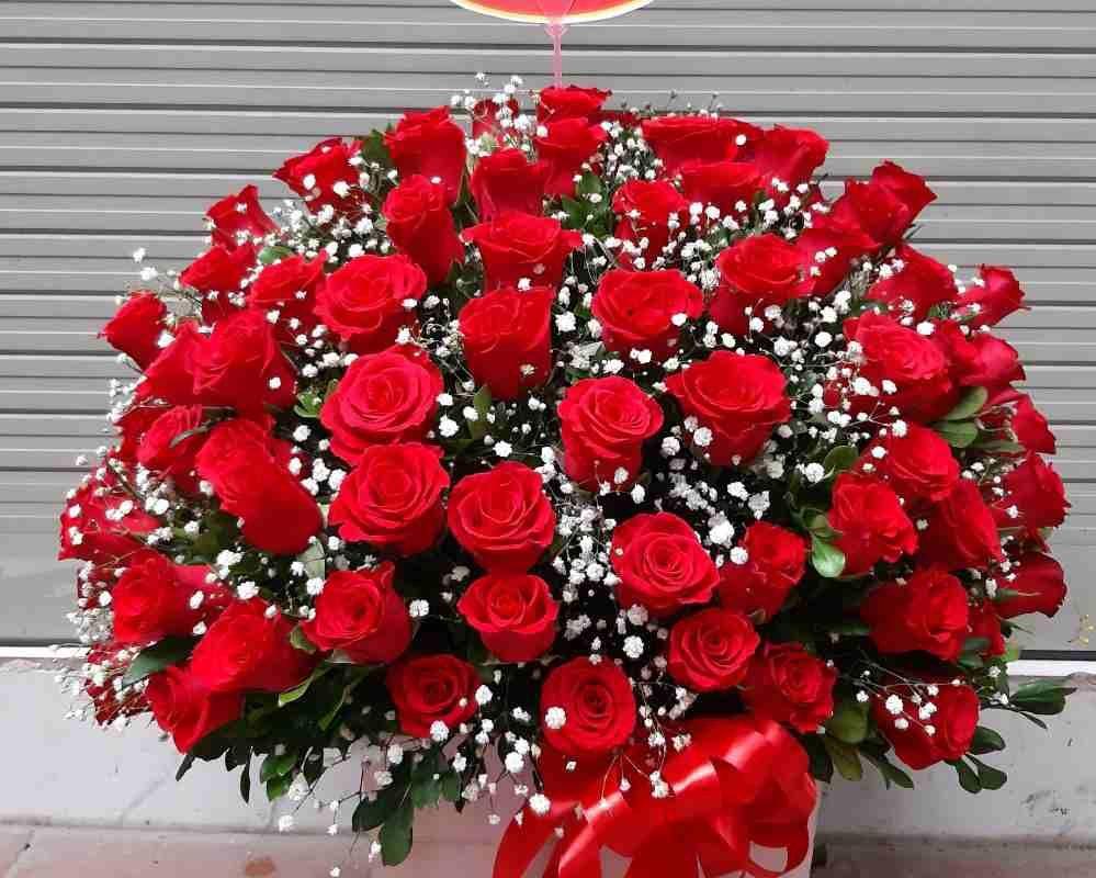 giỏ hoa sinh nhật tại quận 9