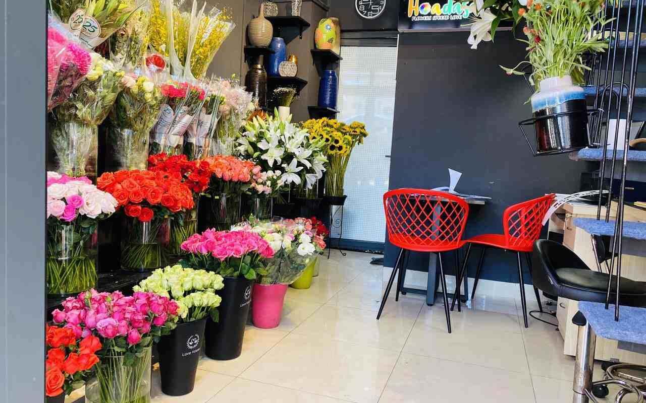 hoa  tại flower shop quận 7 được bảo quản đảm bảo độ tươi