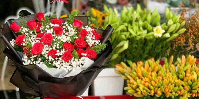 mẫu hoa được đặt online tai quận 8