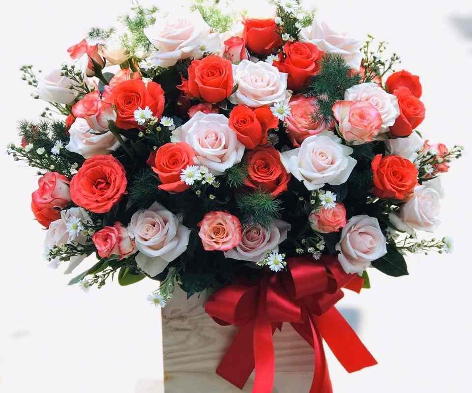 mẫu hoa được Online tại shop hoa tươi Quận 3