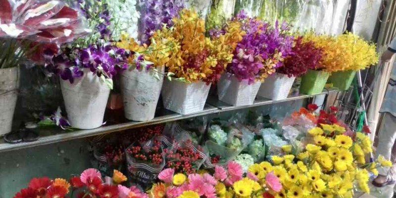 Hoa Trưng Bày tại shop Hoa Tươi Tiền Giang