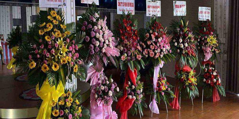 Hoa khai trương được giao cho khách ở Kiên Giang