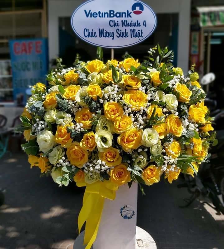 Mẫu Hoa được đặt online tại shop hoa tươi Sóc trăng