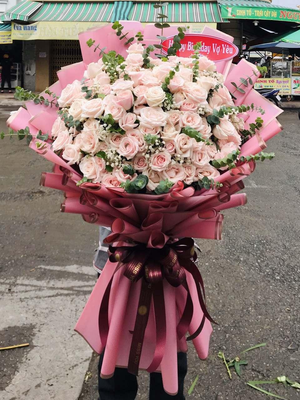 Mẫu hoa được đặt online tại shop hoa tươi Đồng Tháp