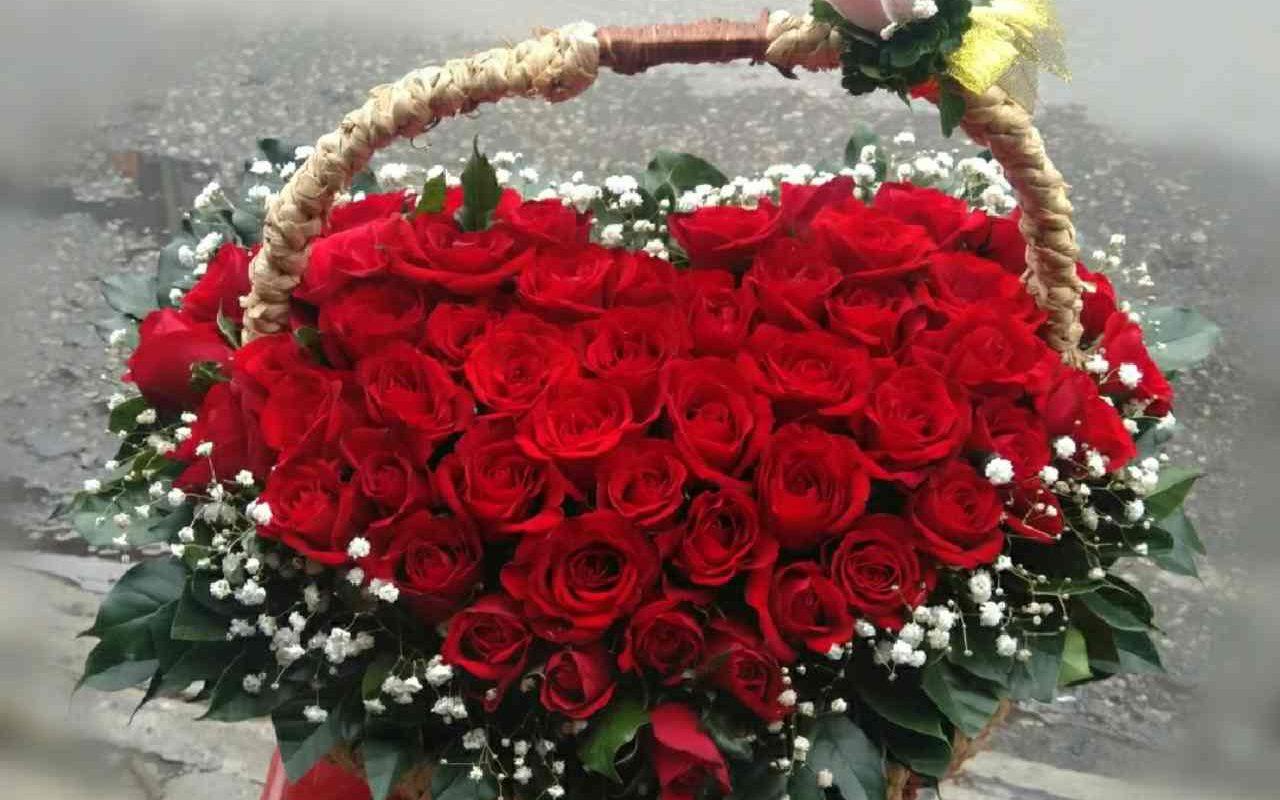 mẫu hoa được đặt online tại shop hoa tươi Tiền Giang