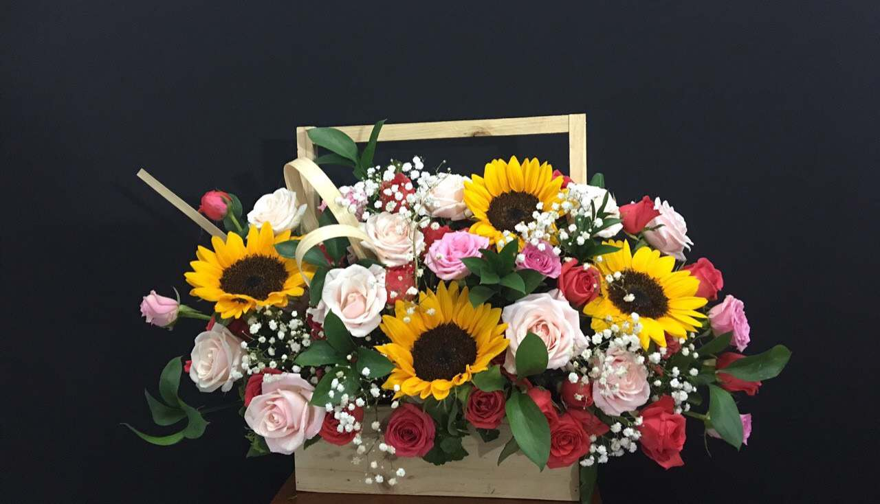 Mẫu Hoa được đặt online tại shop hoa tươi Trà Vinh