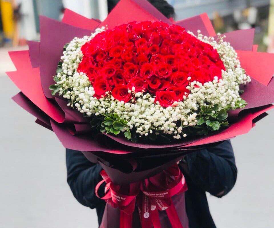 Sản phẩm được đặt online tại shop hoa tươi Vĩnh Long