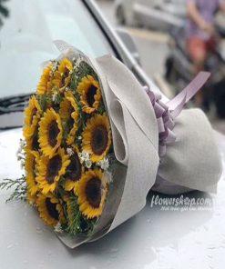 hoa bó hướng dương