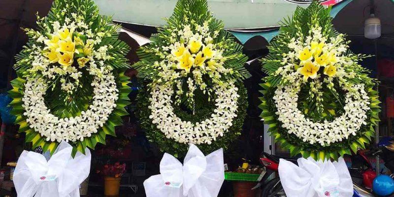 Đặt vòng hoa tang lễ tại quận Tân Phú Giao Hoa tận nhà