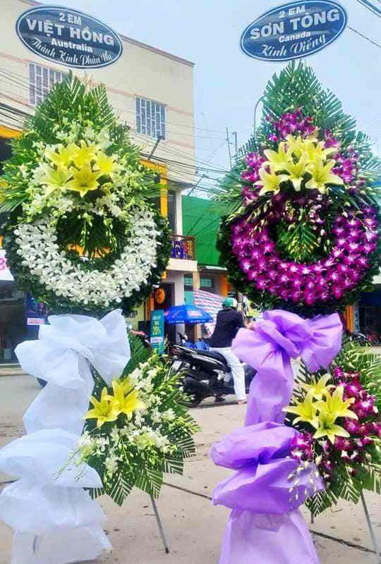 Flowershop.com.vn – Địa chỉ đặt vòng hoa tang lễ tại quận Bình Thạnh uy tín