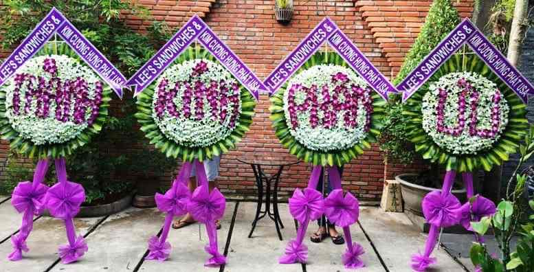 đặt vòng hoa tang lễ tại Tây Ninh giao hoa tận nơi nhanh chóng