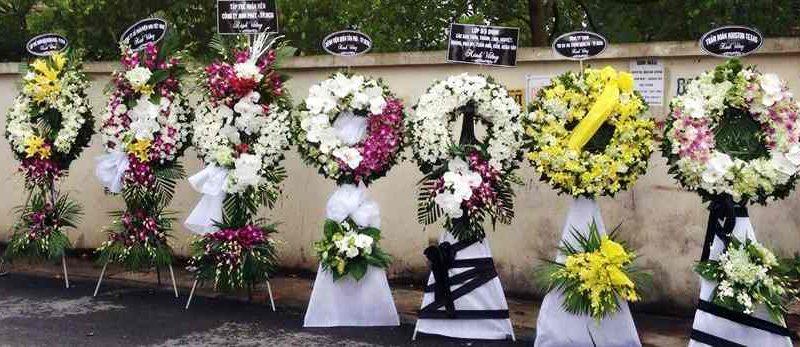 đăt vòng hoa tang lễ tại Huyện Nhà Bè Giao Hoa Nhanh, nhiều mẫu đẹp