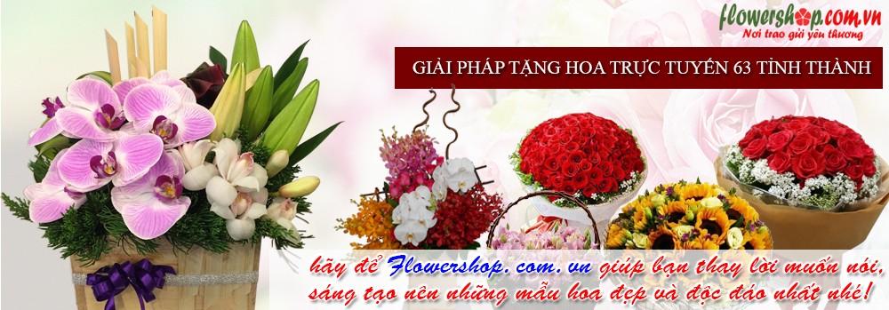 Shop Hoa tươi online dịch vụ chuyển phát nhanh hoa tươi chuyên nghiệp