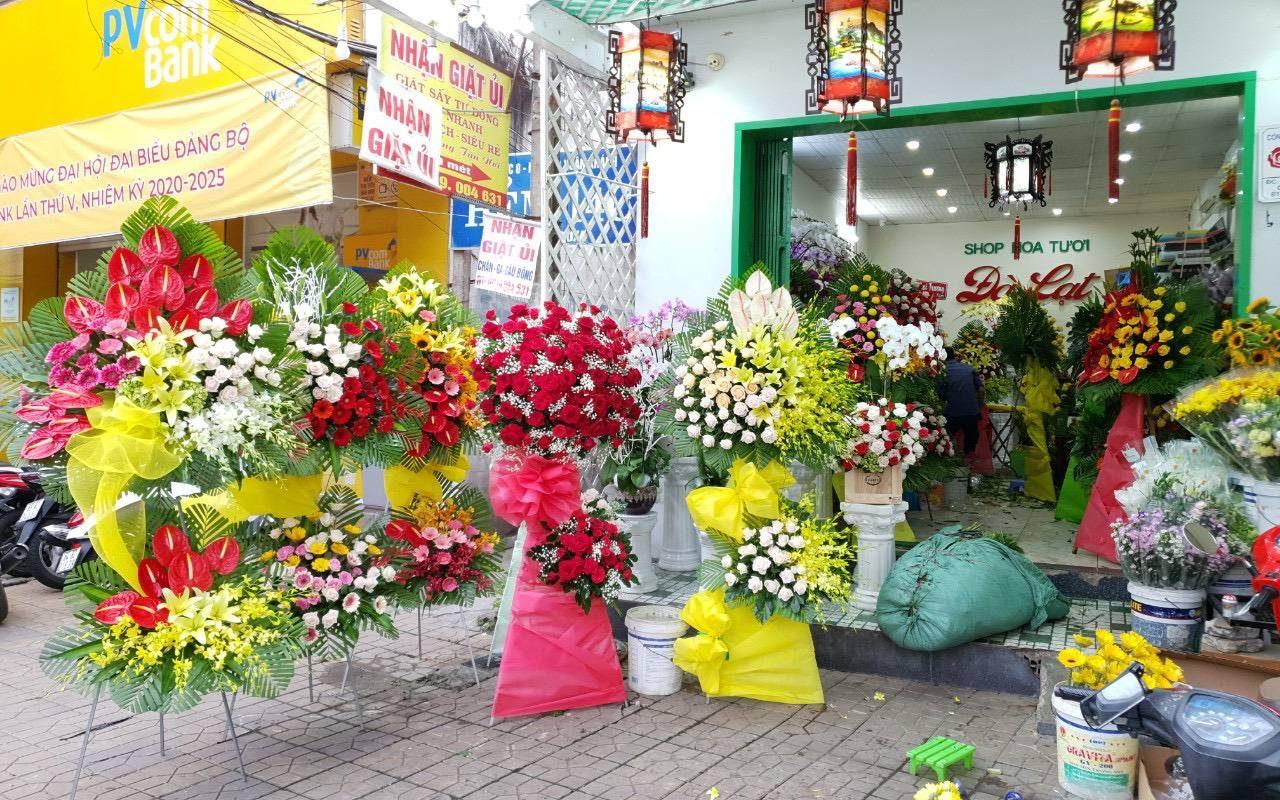 các mẫu hoa được đặt online tại shop hoa tươi Cần Thơ