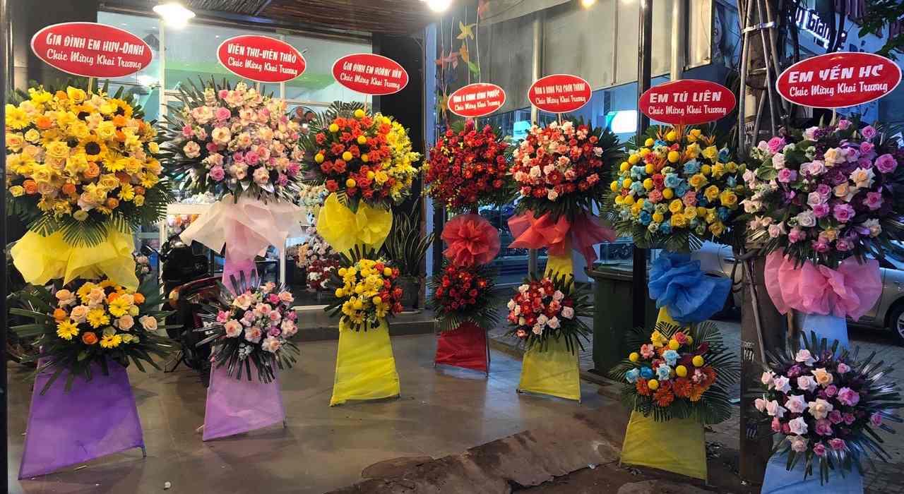 HOA KHAI TRƯƠNG – flowershop.com.vn