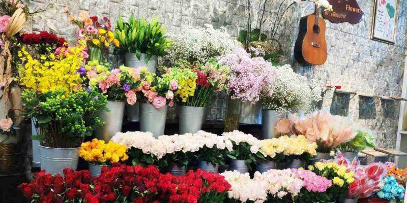 Hoa Trưng Bày Tại Shop Hoa Tươi Flower shop